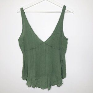INTIMATELY FREE PEOPLE Green Tank Top